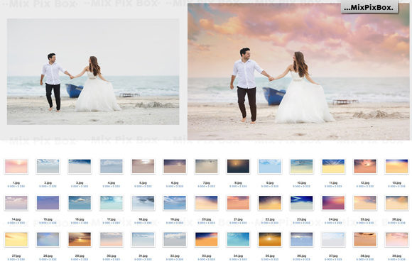 Print on Demand: Summer Overlays Mix Pack Graphic Layer Styles By MixPixBox - Image 2