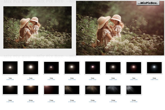 Print on Demand: Summer Overlays Mix Pack Graphic Layer Styles By MixPixBox - Image 7