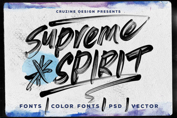 Supreme Spirit Script & Handwritten Font By JumboDesign