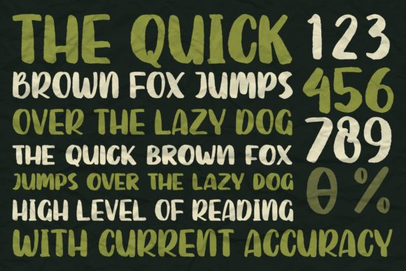Print on Demand: Sutter Camp Display Font By Garisman Studio - Image 8