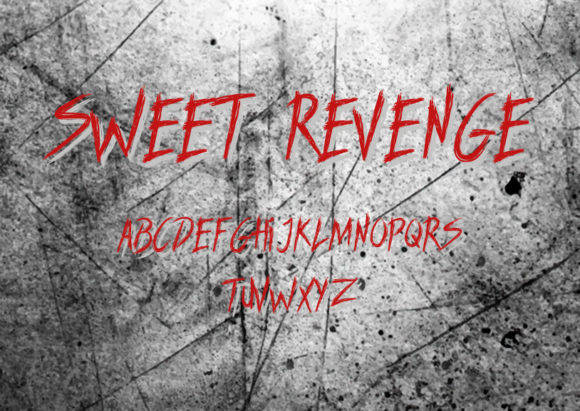 Print on Demand: Sweet Revenge Blackletter Font By Docallisme