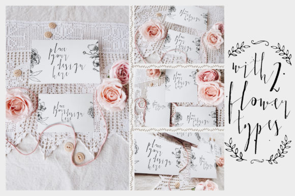 Print on Demand: Sweet Rustic Invitation Mockup Graphic Print Templates By Blue Robin Design Shop - Image 7