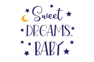 Sweet Dreams, Baby Craft Design By Creative Fabrica Crafts
