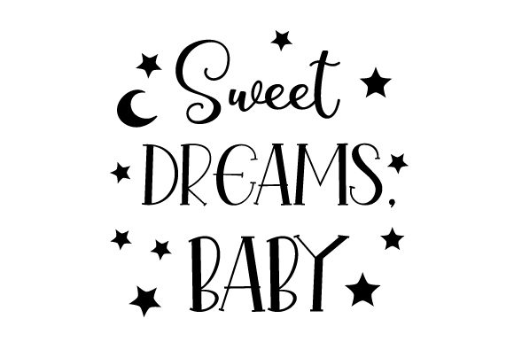 Sweet Dreams, Baby Bedroom Craft Cut File By Creative Fabrica Crafts - Image 2