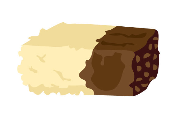 Download Free Sweets Cookie Dough Stuffed Rice Krispie Svg Cut File By for Cricut Explore, Silhouette and other cutting machines.