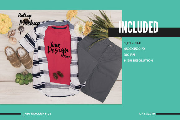 Download Free T Shirt Mock Up Graphic By 3motional Creative Fabrica for Cricut Explore, Silhouette and other cutting machines.
