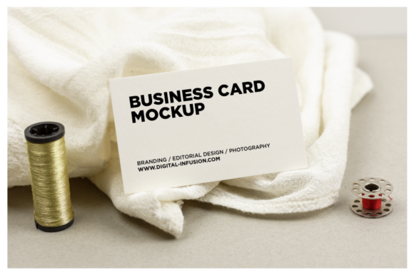 Tailor/Fashion Business Card Mockup Graphic Product Mockups By dumitrasconiu.design - Image 3