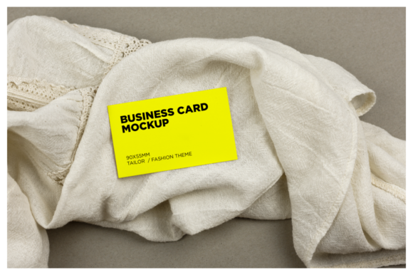 Tailor/Fashion Business Card Mockup Graphic Product Mockups By dumitrasconiu.design - Image 6