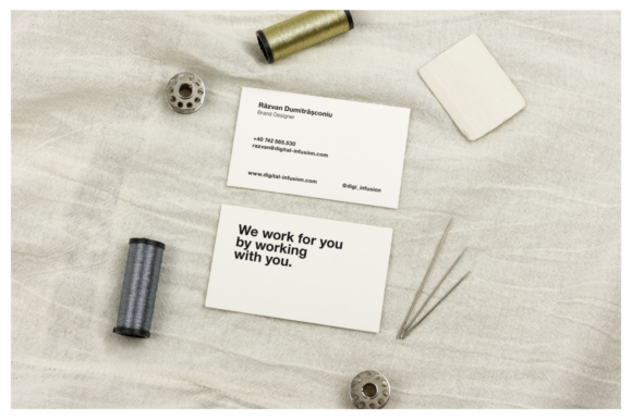 Tailor/Fashion Business Card Mockup Graphic By dumitrasconiu.design