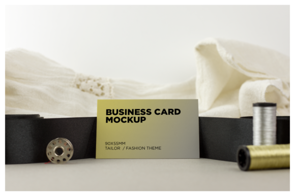 Tailor/Fashion Business Card Mockup Graphic Product Mockups By dumitrasconiu.design - Image 7
