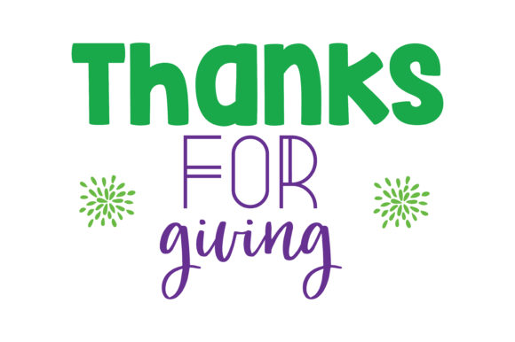 Download Free Thanks For Giving Quote Svg Cut Graphic By Thelucky Creative for Cricut Explore, Silhouette and other cutting machines.