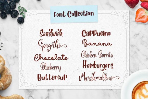 Print on Demand: The Beans Script Display Font By Din Studio - Image 2