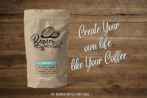Print on Demand: The Beans Script Display Font By Din Studio - Image 9
