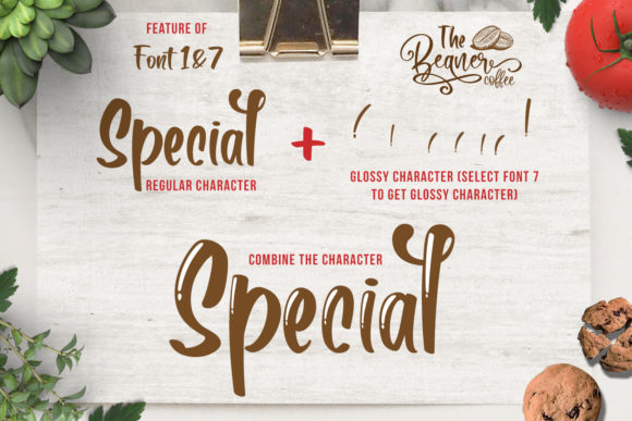 Print on Demand: The Beans Script Display Font By Din Studio - Image 12