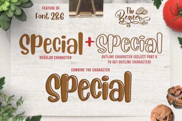 Print on Demand: The Beans Script Display Font By Din Studio - Image 13