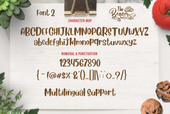 Print on Demand: The Beans Script Display Font By Din Studio - Image 16