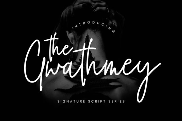 Print on Demand: The Gwathmey Script Script & Handwritten Font By CreatypeStudio