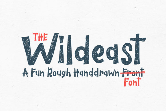 Print on Demand: The Wildeast Decorative Font By trusthastd