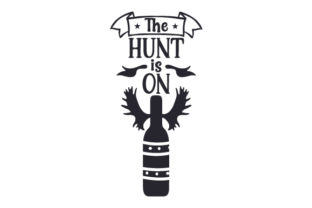 The Hunt is on Craft Design By Creative Fabrica Crafts