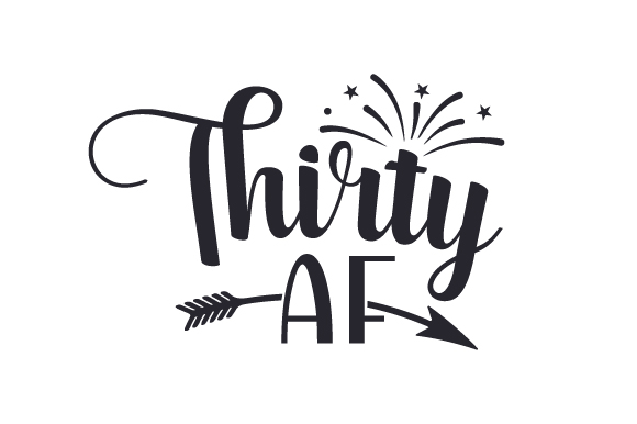 Thirty Af Svg Cut File By Creative Fabrica Crafts Creative Fabrica