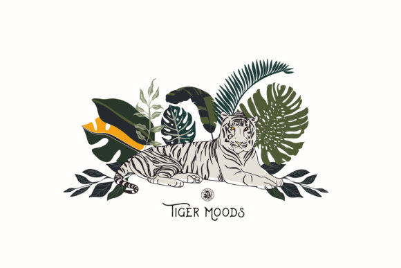 Tiger Moods Graphic Illustrations By webvilla - Image 2