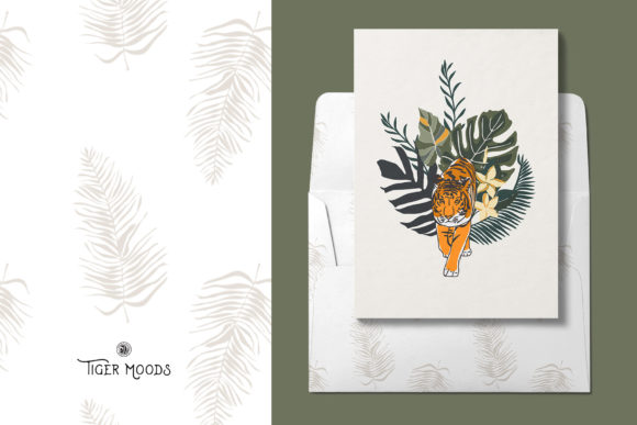 Tiger Moods Graphic Illustrations By webvilla - Image 7
