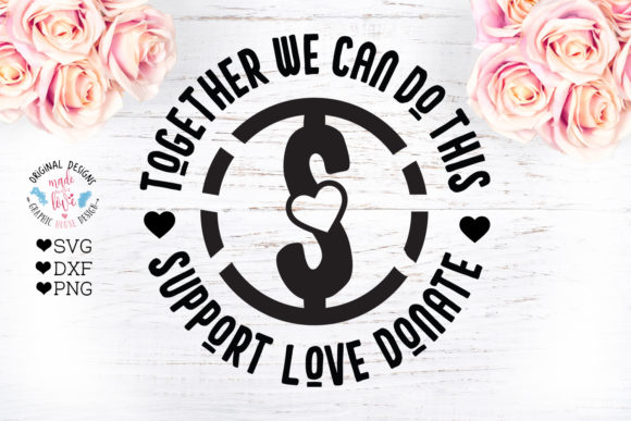 Print on Demand: Together We Can Dot It Graphic Crafts By GraphicHouseDesign - Image 1