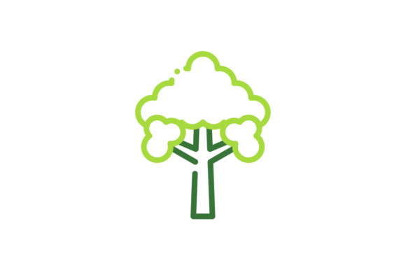 Download Free Tree Icon Graphic By Rudezstudio Creative Fabrica for Cricut Explore, Silhouette and other cutting machines.
