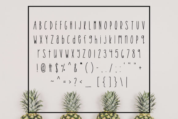 Print on Demand: Tropical Trouble Sans Serif Font By SavoringSurprises - Image 2
