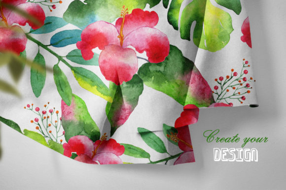 Print on Demand: Tropics Watercolor Png Graphic Illustrations By MyStocks - Image 5