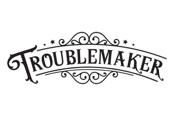 Troublemaker Craft Design By Creative Fabrica Crafts Image 1