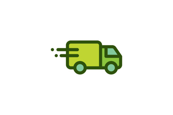 Truck Icon Graphic By Ahlangraphic Creative Fabrica