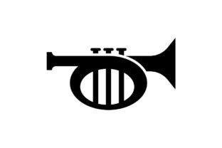 Trumpet Music Icon Vector Graphic By Hoeda80 Creative Fabrica