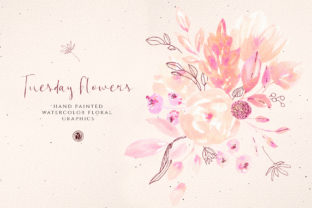 Tuesday Flowers Graphic By webvilla