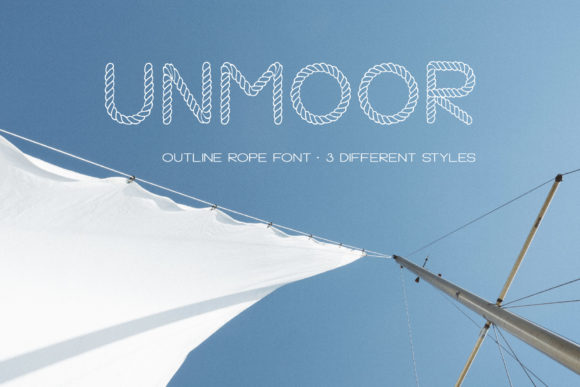 Print on Demand: Unmoor Family Color Fonts Font By Anastasiia Macaluso - Image 2