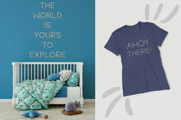 Print on Demand: Unmoor Family Color Fonts Font By Anastasiia Macaluso - Image 16