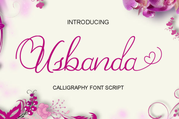 Print on Demand: Usbanda Script Script & Handwritten Font By Shape Studio - Image 1