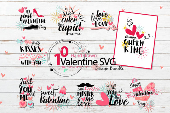 Print on Demand: Valentine Bundle Graphic Illustrations By 3Motional