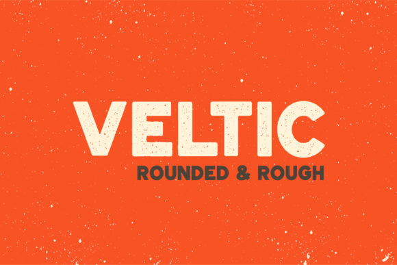 Print on Demand: Veltic Display Font By Sant