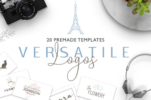 Versatile Logo Templates V.2 Graphic Logos By switzershop