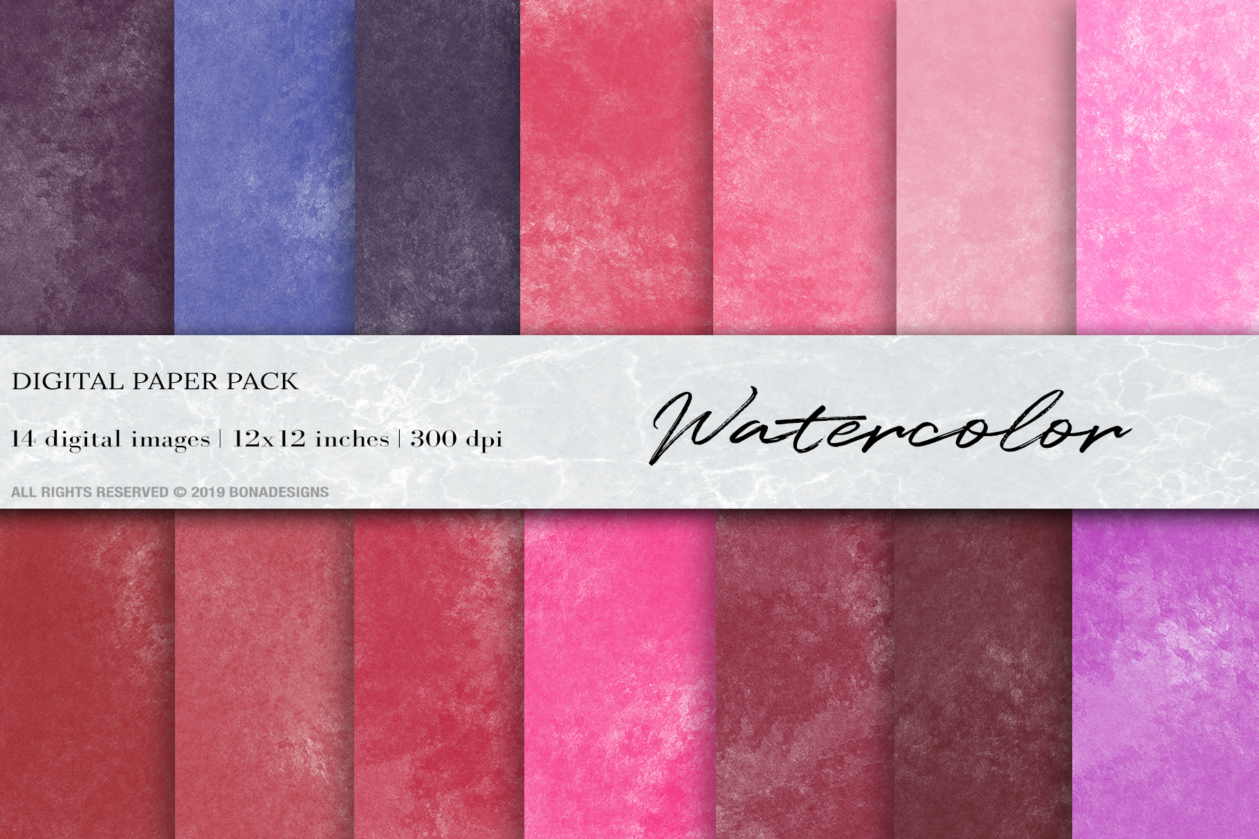 Download Free Watercolor Digital Papers Graphic By Bonadesigns Creative Fabrica for Cricut Explore, Silhouette and other cutting machines.