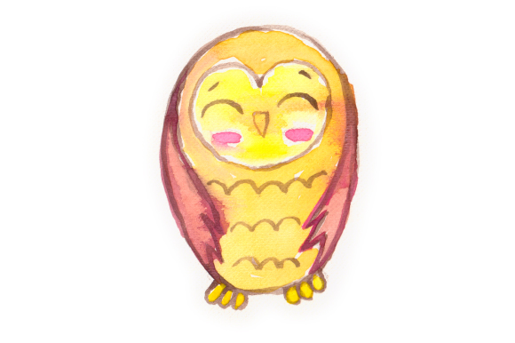 Download Free Watercolor Owl Svg Cut File By Creative Fabrica Crafts for Cricut Explore, Silhouette and other cutting machines.