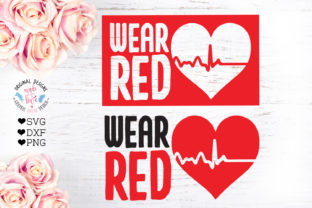 Download Free Wear Red Aids Awareness Cut File Graphic By Graphichousedesign for Cricut Explore, Silhouette and other cutting machines.