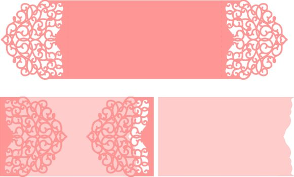 Download Free Wedding Card Arabescos Graphic By Jgalluccio Creative Fabrica for Cricut Explore, Silhouette and other cutting machines.