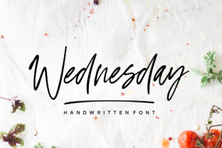Wednesday Vibes Font By Sronstudio
