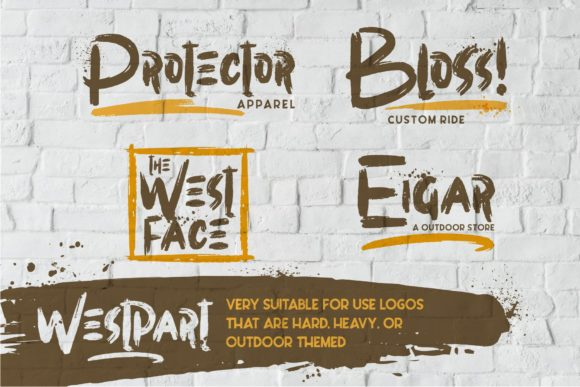 Print on Demand: Westpart Display Font By Garisman Studio - Image 3