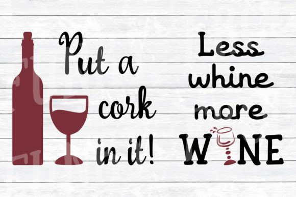 Download Free Fun Wine Quotes Bundle Graphic By Funkyfrogcreativedesigns for Cricut Explore, Silhouette and other cutting machines.