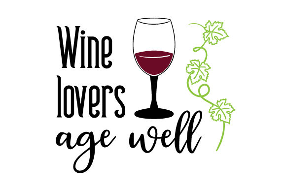 Download Free Wine Lovers Age Well Svg Cut File By Creative Fabrica Crafts for Cricut Explore, Silhouette and other cutting machines.
