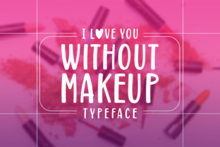 Print on Demand: Without Makeup Script & Handwritten Font By Situjuh