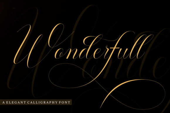 Print on Demand: Wonderfull Script & Handwritten Font By madjack.font